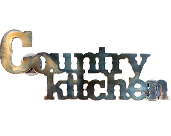 Country Kitchen Fridge Magnet