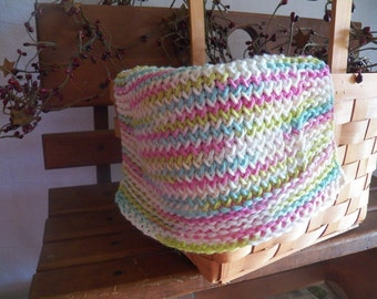 Set of 2 Knitted Cotton Dishcloth's