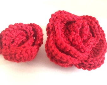 2x crochet flowers applique, handmade crochet flowers, sewing embellishments,colorful sewing