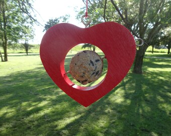 From The Heart - Fruit and Suet Feeder - Bird Feeder