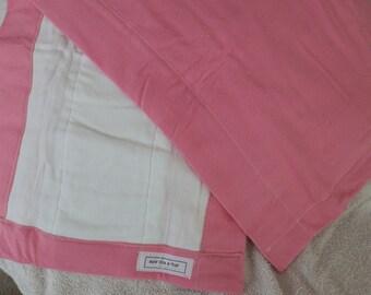 Pink Burp Cloths