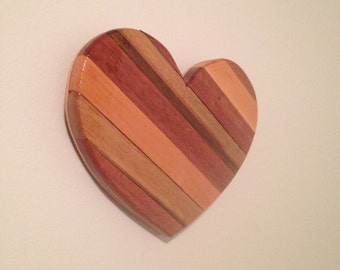 Wooden Heart - rustic reclaimed wood