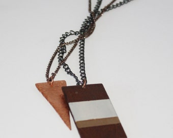 Double Strand Sister Necklace