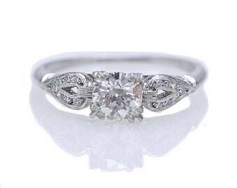 Circa 1930s Engagement Ring
