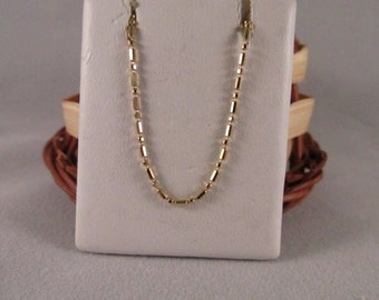 14K Solid Yellow Gold Beads Chain