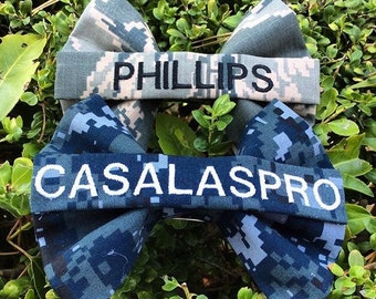 Custom Nametape Military Bow