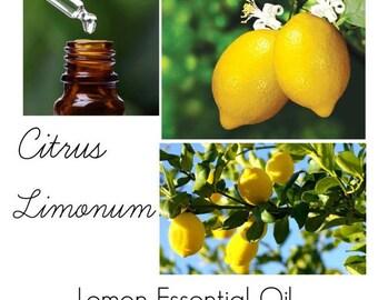 Lemon Essential Oil, Uses for Lemon essential Oil -- 100% Pure Authentic Lemon EO