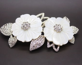 Gorgeous vintage inspired bridal headpiece