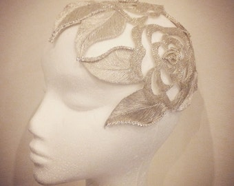 Couture handmade headpiece