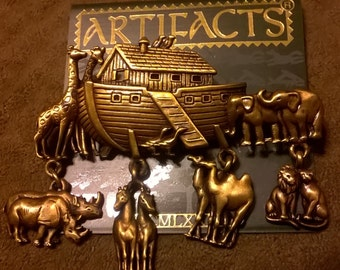 Vintage Artifacts brand Noah's Ark Brooch