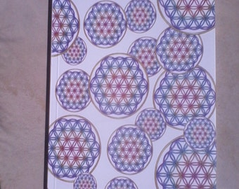 Magnetic Notebook Flower of life