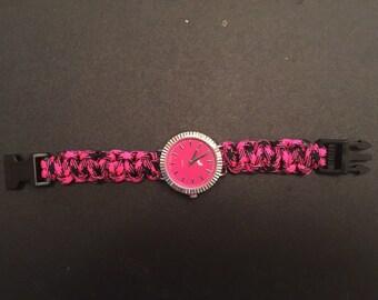 Survival Pink w/ Gold watch (quartz)