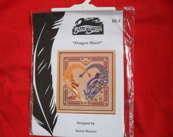 Teresa wentzler ,black swan ''dragon heart'' chart sealed very rare!!!