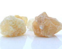 Raw golden calcite, honey calcite, sunshine calcite rough crystal one piece