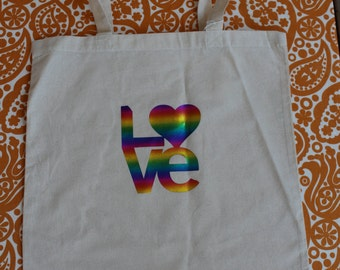 INVENTORY REDUCTION Sale!!!  Rainbow .....Show the LOVE bag!!