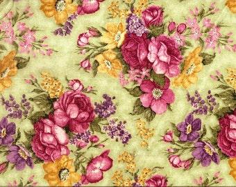 Davids Textiles Love blooms floral 100% cotton