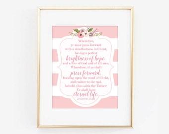 LDS Young Women Theme 2016 Digital Print