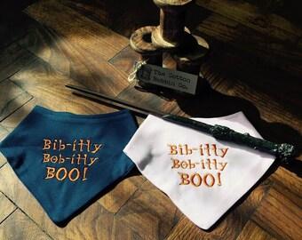 Bib Bibitty Bobbity Boo Baby Bandana Bibs Supersoft Embroidered Bibs Bandana Bibs Cinderella Fairy Godmother Personalised Bibs