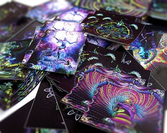 Visionary Art Sticker Pack (20 Stickers) by Hakan Hisim