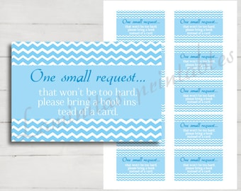 book request baby shower - book request card - bring a book instead of a card - bring a book baby shower insert - bring a book insert