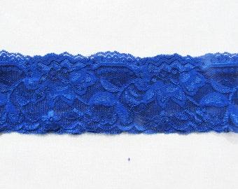 Wedding Garter Blue Garter Blue Lace Garter Blue Bridal Garter Blue Lace Garter Blue Wedding simple garter Handmade garter