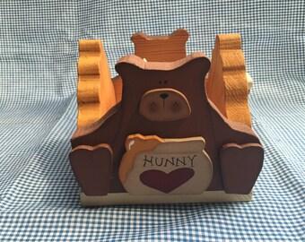I Love Hunny Candle Holder