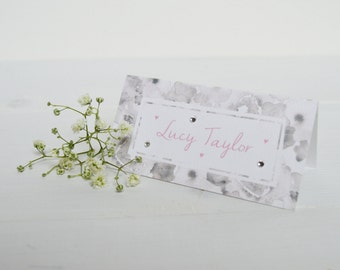 Painted Petals Place Card