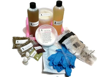 All Natural Cold Process Soap Making Complete Kit