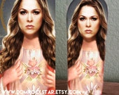 Ronda Rousey Saint Candle