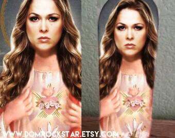 Ronda Rousey Saint Candle