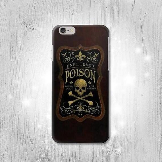 unfiltered poison vintage bottle case iphone 7 plus 6 5 se 4. Black Bedroom Furniture Sets. Home Design Ideas