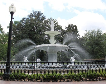 Forsyth Park Fountain