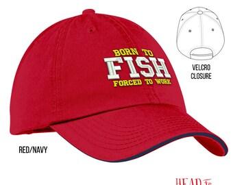 Born To Fish, Fishing Gift, Fishing Hat, Fishing Dad, Fishing Design, Fisherman, Fisherman Gift, Fishing, Fishing Kit, Fishing Prop