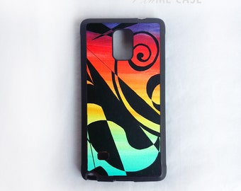 Colorful on Silicone Rubber or Plastic case cover for iPhone 6, 6+, 5/5s, 4/4s cover and Galaxy Note 5,4,3,2, Galaxy S6,S5,S4 Case Cover