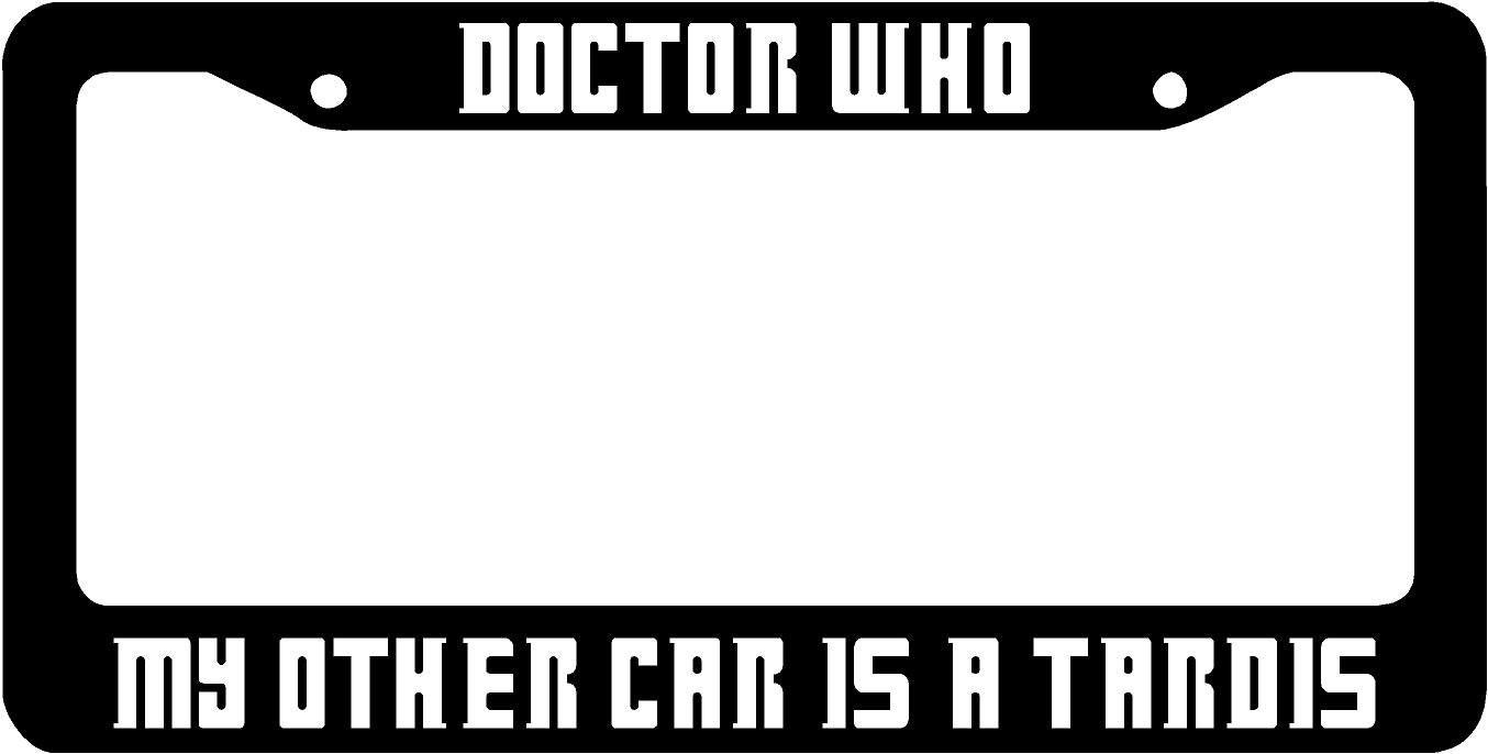 description dr who hand made licence plate frame - Doctor Who License Plate Frame