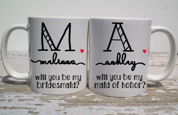 Will You Be My Bridesmaid Coffee Mug