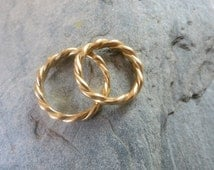 "wedding ring ""Corde"""