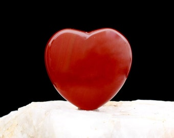 John of God Blessed Carnelian  Crystal Heart JHH-5