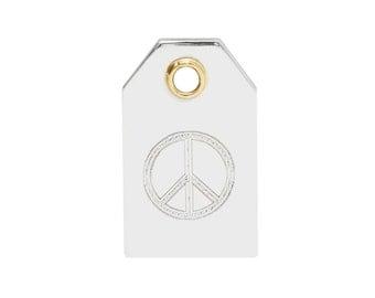 Peace Sign Symbol Necklace