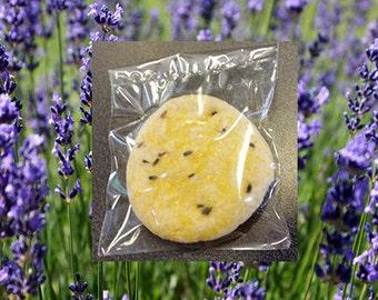 1 Dozen Exceptionaly Delicious Lemon Lavender Cookies with a Subtle Lavender, Complex Flavor Profile