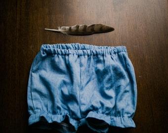 Jean Bubble Shorts