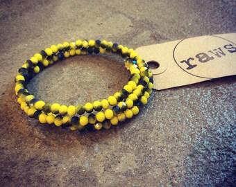 raws hello yello bracelet