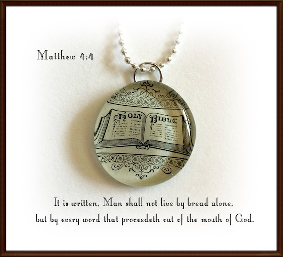 holy bible necklace bible pendant antique image by gospelhymns