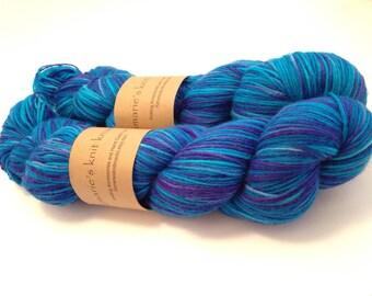 Hand-Dyed Yarn, Hand Painted Yarn, Sock Yarn_ Caribbean