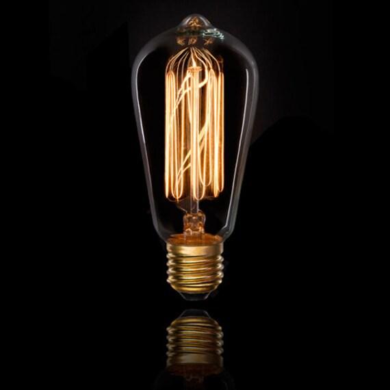 edison bulb 40 watt 7 stem 120 volt clear x 5 5 inches x 1 piece. Black Bedroom Furniture Sets. Home Design Ideas
