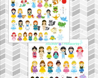 Princess stickers [Planner Stickers]