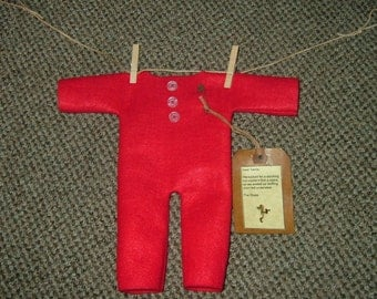 Primitive Santa's Long Johns~Last Ones! Reduced! Clearance!
