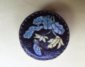 Cloisonné Round Box