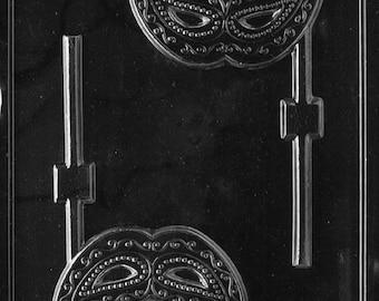 Mardi Gras Mask Lollipop Chocolate Mold - M158
