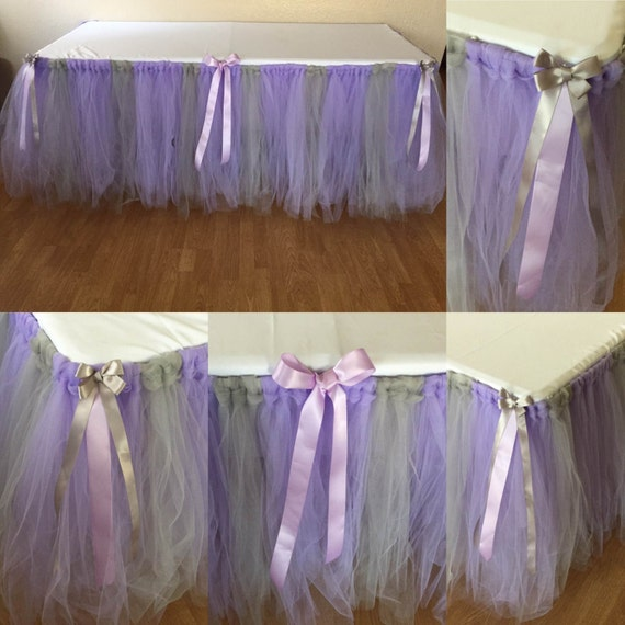 Tulle Tutu Table Skirt Any Size Color